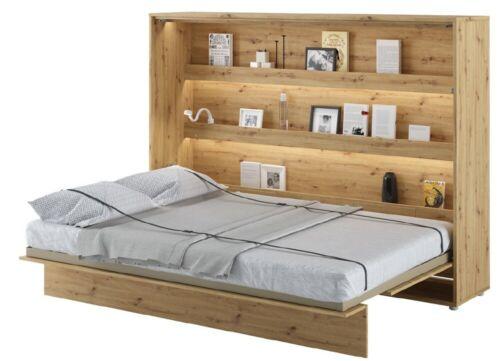 Horizontal Schrankbett BED CONCEPT Klappbett Wandbett Bett Gästebett