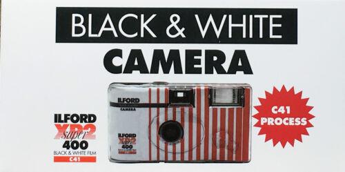 EINWEGKAMERA  ILFORD XP 2Super  Schwarz/weiß 27 Aufn.1 Kamera MHD 04/2020