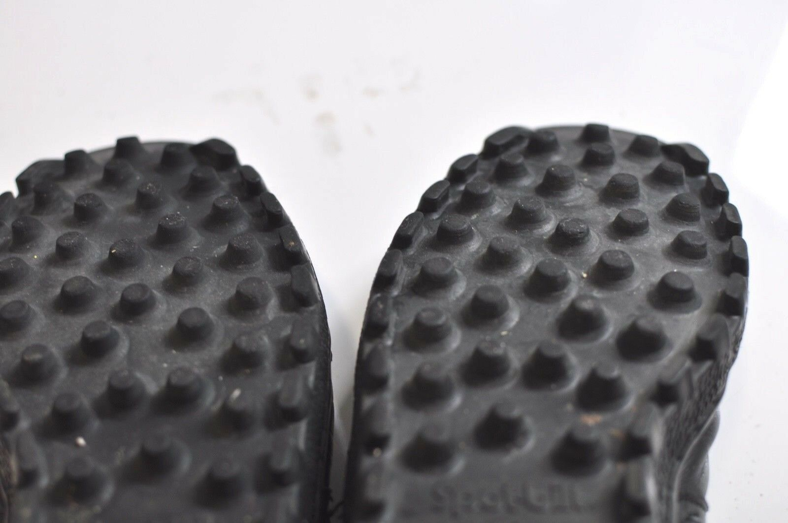 Vintage Vintage Vintage Spot-bilt Mens nero leather scarpe da ginnastica Dimensione 10 c04fce