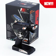 NEW! FLYSKY FS-GT3B 2.4G 3CH Radio RC LCD Transmitter & Receiver for RC Car Boat