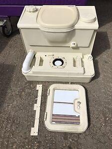 thetford c2 r caravan or motorhome cassette toilet ebay. Black Bedroom Furniture Sets. Home Design Ideas