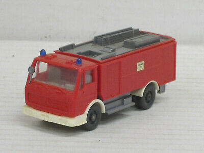 """Herpa 937016 # Wechselkoffer ABA-2 Abrollcontainer /"""" Feuerwehr Dortmund /"""" 1:87"""