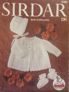 7d6f3e877 Vintage Sirdar Snuggly Baby Coat