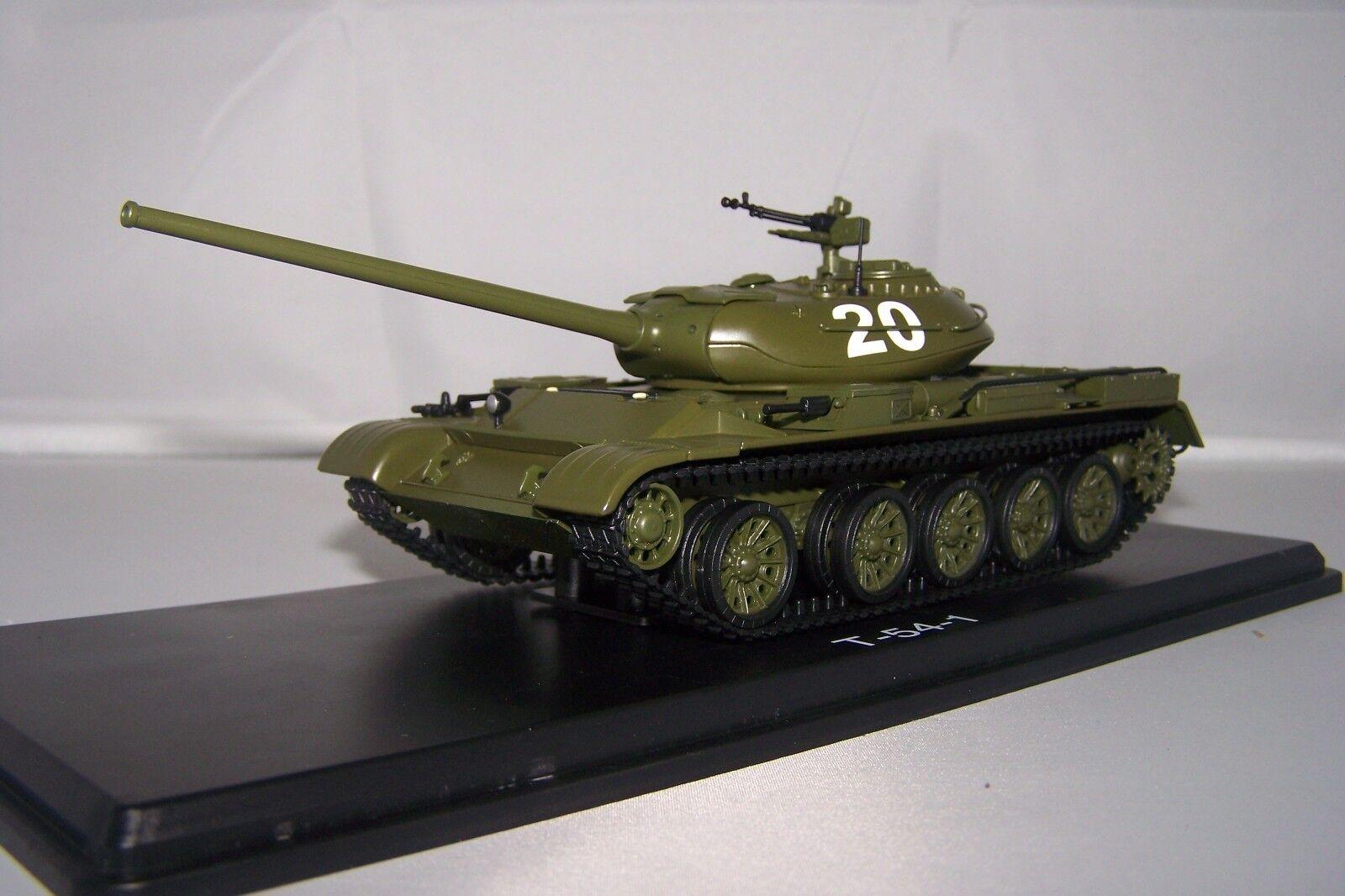 Shengshi star brille, a ez-vous au au au sentiHommes t de la clientèle 1/43 Militaire Start Scale Models (3021) T54 armée soviétique cd8ab2