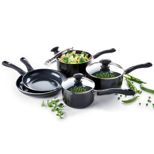 GreenPan Velvet Ceramic Non-Stick 5 Piece Cookware Set