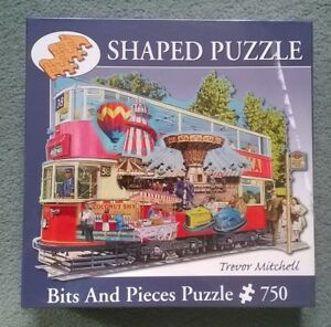 Jigsaw-750-pieces-Trevor-Mitchell-Heading-to-the-Fair-Bits-and-Pieces