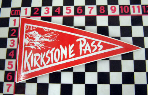 Années 1960 style vacances kirkstone Verre Autocollant-Rétro Voiture Fenêtre Classic années 60
