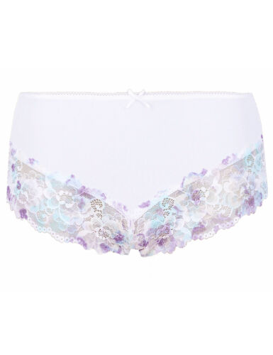 LADIES  EX MARKS /& SPENCER HIGH RISE LACE KNICKER MIDI STYLE BRIEFS 4 COLOURS