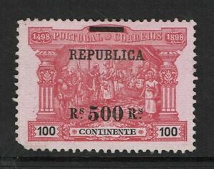 Portugal-SC-198-Mint-No-Gum-Hinge-Remnants-S7824