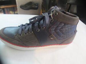 129th Geox Leather Value 45 Nuevo Blue Mount Size Suede Grey Basket 6rxnR6