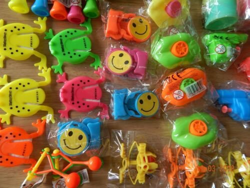 Pocket Money Toys 100 Small Assorted Unisex Party Bag Fillers//Lucky Dip Prizes