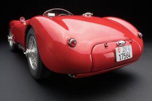 1952 Jaguar Type C En Foncé Rouge Moulage Sous Pression Par Cmc 1:18 Echelle