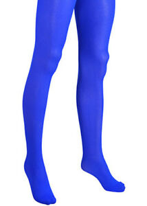 4fad9deb2 Image is loading Adult-Ladies-Bright-Royal-Blue-Tights