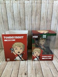 Youtooz TommyInnit Vinyl Figure POGCHAMP!/SOLD OUT/LIMITED EDITION/ #159
