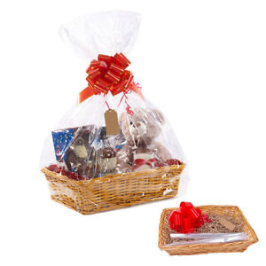Christmas Hamper Basket.Details About Large Make Create Your Own Wicker Gift Hamper Basket Baby Christmas Present Uk