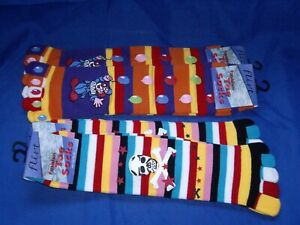 4-x-Pairs-of-Novelty-Fun-Toe-Socks-5-Toes-One-Size-Fits-All-NEW