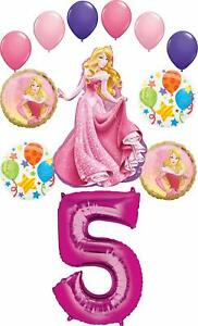 Sleeping-Beauty-Party-Supplies-Princess-5th-Birthday-Balloon-Bouquet-Decorations