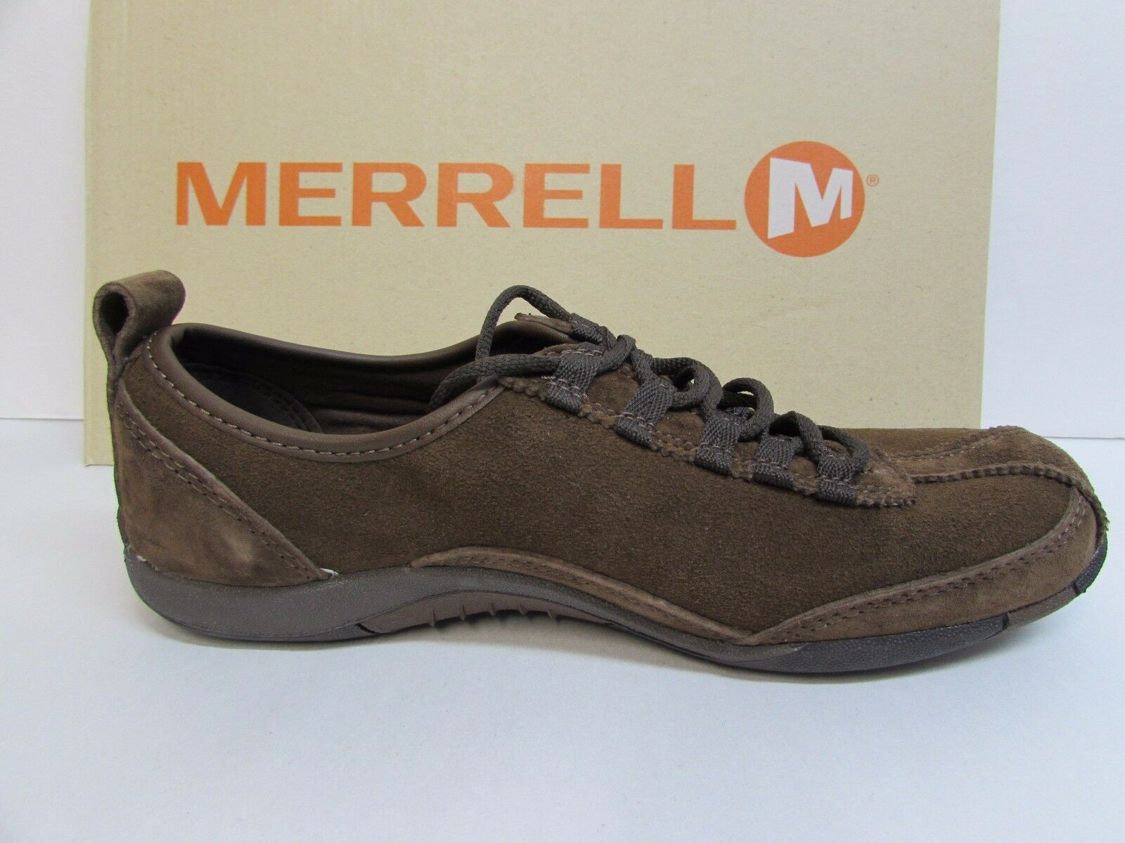 Merrell Size 7 M Brown Brown Brown Leather Performance Footwear New Womens shoes 3bda29