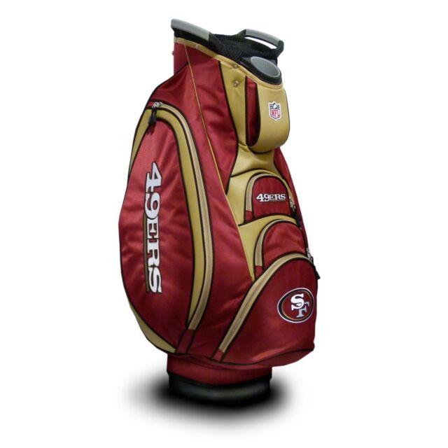 NEW Team Golf NFL San Francisco 49ers Victory Cart Bag 207441cbe