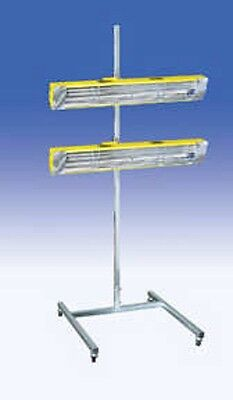 Infratech SRU-3215 120V Medium Wave System Portable Infrared Curing Lamp with Two Heads INF-14-1005