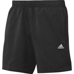 Uomo-nuove-ADIDAS-CHELSEA-Climalite-Pantaloncini-Corsa-Palestra-Fitness-Nero-Taglia-XS