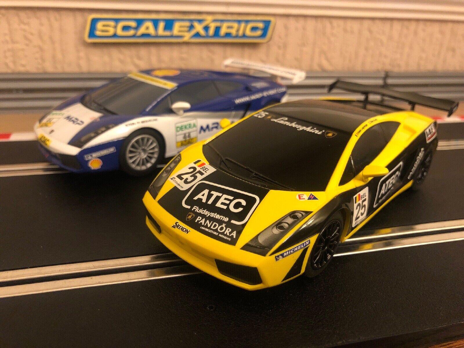 Skalextris Lamborghini Gallardo GT No25& No44 Båda i myntkondition