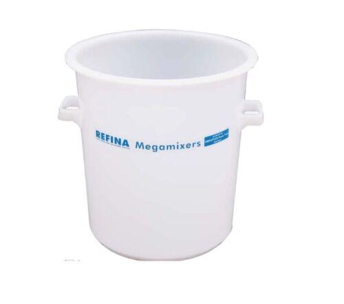 Refina 35 ltr Rigid Mixing Tub Heavy Duty 321010 WHITE