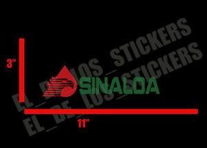 "Sinaloa Decal Sticker tomateros 23/"" mexico emblema"