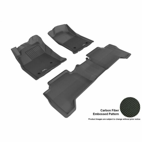 3D MAXpider Custom Fit KAGU Floor Mats for Jeep 2013-2018 Grand Cherokee L1JP005