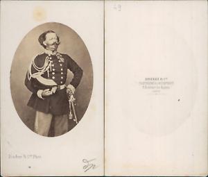 Disderi-Paris-Victor-Emmanuel-II-CDV-vintage-albumen-carte-de-visite-Victor