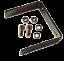 ► Manomètre Etanche VEGA® Voltmètre Moto Bateau inoxydable 8-18V ◄