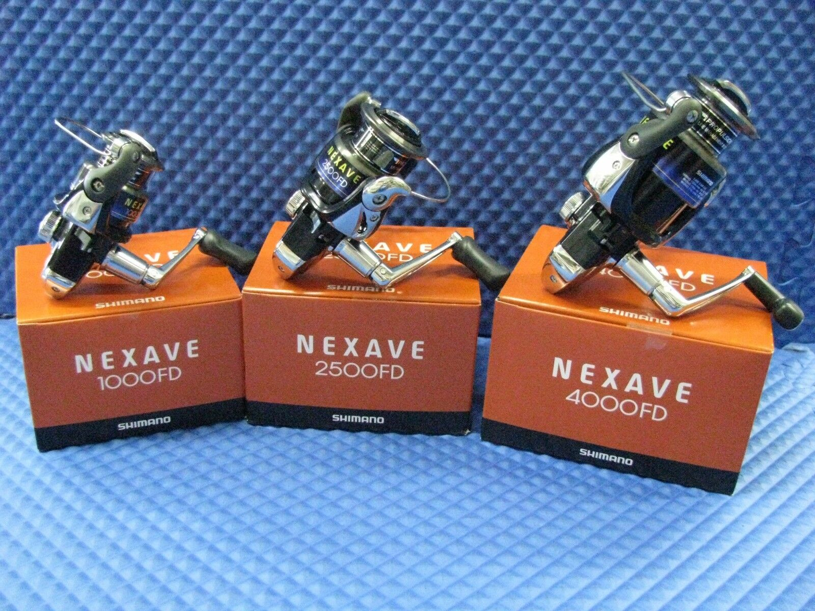 Shimano Nexave Spinning Reels 1000FD, 2500FD & 4000FD CHOOSE YOUR MODEL