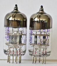 6N3P-E / 6N3P /6N3 / 5670 / 2C51/ 6CC42 NOS perfectly matched PAIR tubes 3 mica