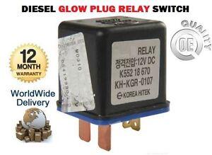 2001 tdi glow plug relay location