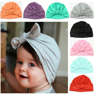 Hats & Caps Boys' Baby Clothing Just Baby Toddler Boy Girl Indian Style Stretchy Solid Turban Hat Hair Head Wrap Cap 10 Colors