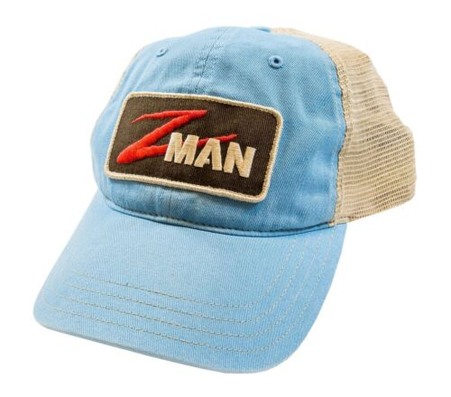Pêche Chapeau z man Vêtement lavé Trucker Patch Logo chapeau de pêcheur chapeau ZMAN Baits