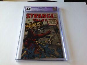 STRANGE TALES 84 CGC 4.0 MAGNETO PROTOTYPE STORY KIRBY DITKO ATLAS COMICS