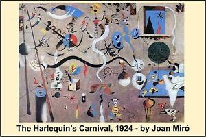 Miro Carnival Of Harlequin