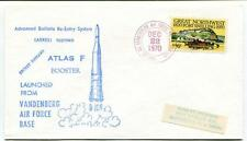 1970 Atlas F Booster Vandenberg Air Force Base Secret Payload SPACE NASA USA