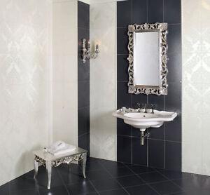 Piemme valentino tresor platino argento piastrelle in - Piastrelle per bagno in offerta ...