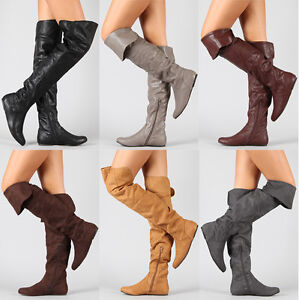 Slouchy-Over-the-Knee-Thigh-High-Cuff-Flat-Boot-QUPID-Proud-09