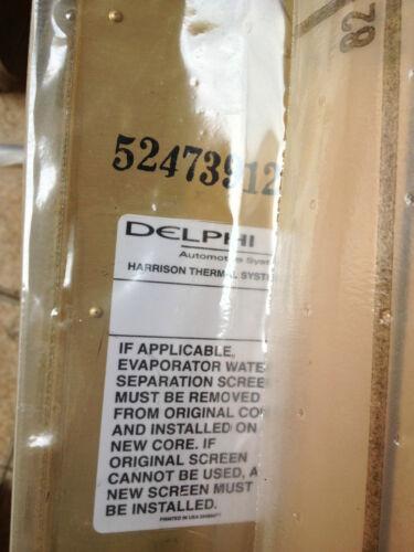 AcDelco Evaporator Skylark Achieva Grand Am Beretta Corsica 15-6880 52473912