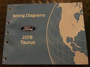 2018 Ford Taurus Wiring Diagrams Manual | eBay