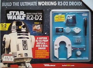 Details about STAR WARS R2-D2 DROID! MODEL KIT ISSUE 1,1:2 SCALE WORKING  APP-CONTROL WIRELESS
