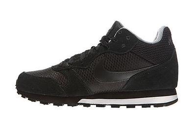 Mujeres Nike MD Runner 2 MID NegroGris Frío UK Size 4, 4.5, 5, 6, 7   eBay