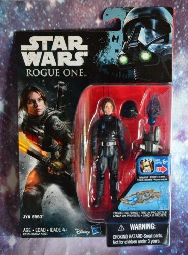 Star Wars ROGUE ONE Figure JYN ERSO w// helmet WAVE 3 HASBRO 3.75 Disney