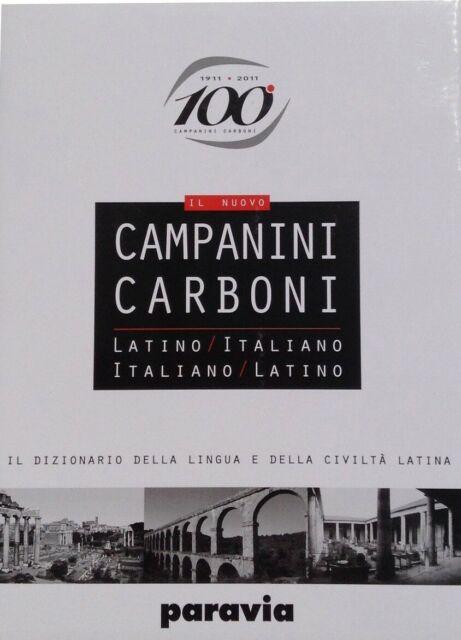 DIZIONARIO LINGUA LATINA CAMPANINI-CARBONI - 9788839550477