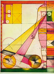Weiblicher-Akt-1970-GROSSE-Rad-Johannes-VENNEKAMP-1935-D-handsigniert
