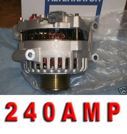 F-450 550 Super Duty V8 6.0L  Diesel 2004-2007 F-250 350  HIGH AMP HD ALTERNATOR