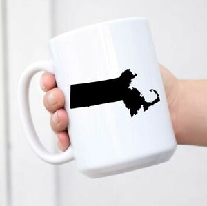 Massachusetts - States Coffee Mug Tea Cup Novelty Gift Mugs